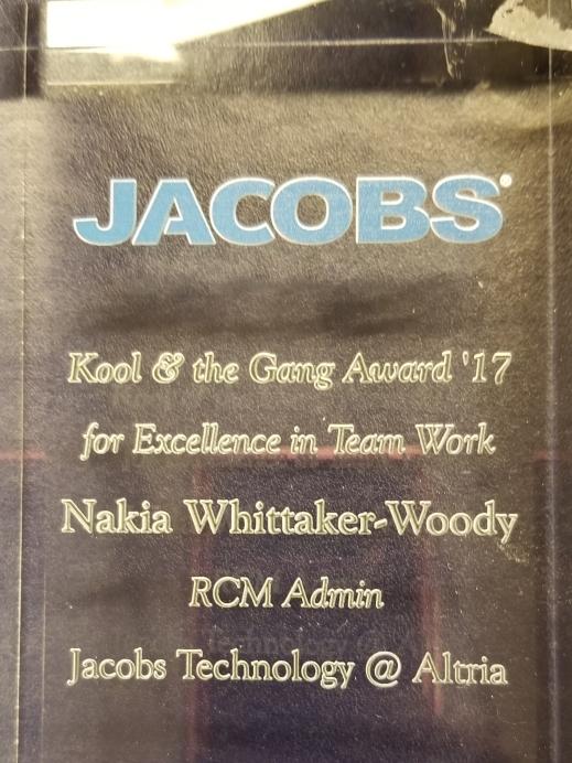 JACOBS Kool and the Gang Award '17