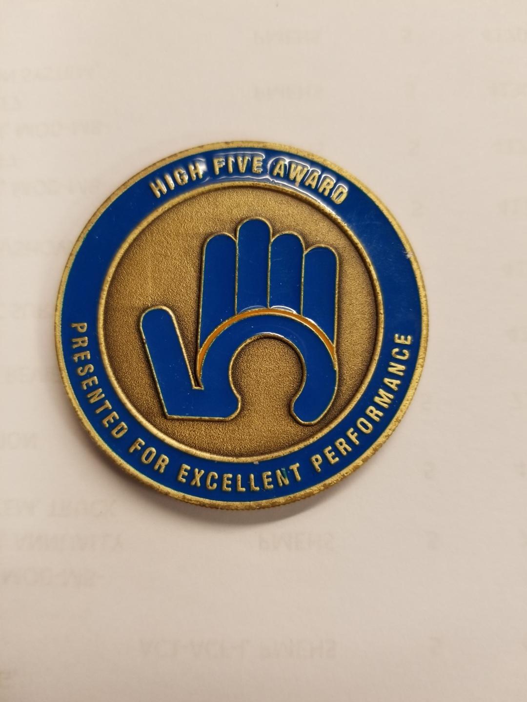 High Five Award